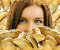 Patates maske