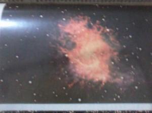 Yengeç Bulutsusu, Andromeda gökadası