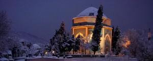 Bursa'dan kış manzarası