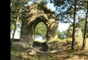 Kırklareli Vize'de tarihi bir yapı