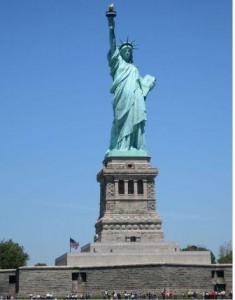 New York'daki Özgürlük Anıtı