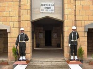 Süleyman Şah Türbesi'nde Türk Askeri